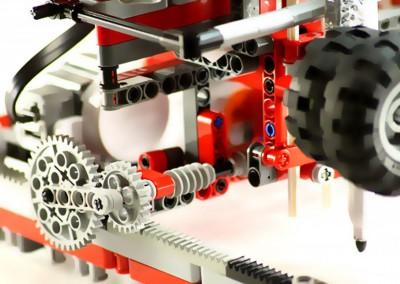 """Techniktag """"Roboter bauen mit Lego-Mindstorms"""""""